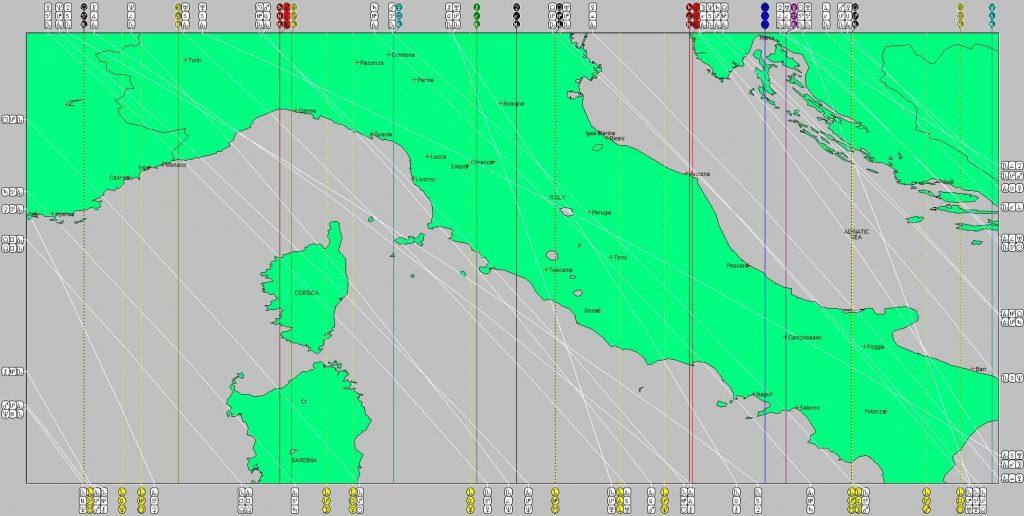 Martha Astrocartography Map